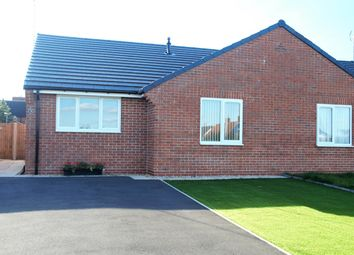 Thumbnail 2 bed semi-detached bungalow for sale in 3 Church Row, Church Road, Clipstone