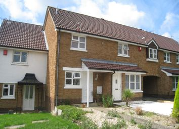 Thumbnail 2 bed terraced house to rent in Totmel Road, Canford Heath, Poole
