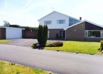 Thumbnail 4 bedroom detached house for sale in Okebourne Park, Swindon