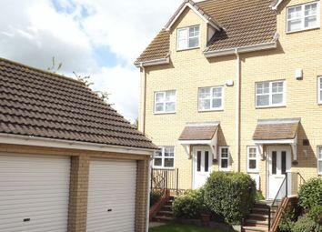 Thumbnail 4 bed end terrace house for sale in Bradshaws Court, Eaton Ford, St. Neots