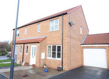 Thumbnail 3 bedroom semi-detached house for sale in Heather Drive, Sherburn In Elmet, Leeds