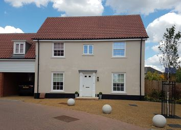 Thumbnail 4 bedroom link-detached house for sale in Griffiths Close, Ipswich, Suffolk