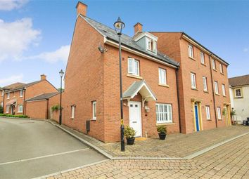 Thumbnail 4 bed end terrace house for sale in Britten Road, Swindon, Wiltshire