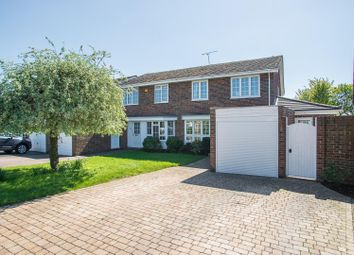 Thumbnail 4 bed semi-detached house for sale in Willowdene, Pilgrims Hatch, Brentwood