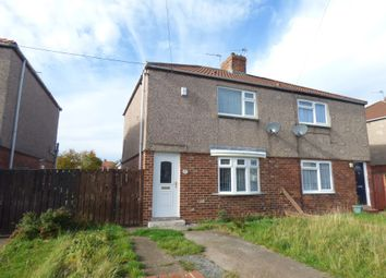 Thumbnail 2 bed semi-detached house to rent in Second Avenue, Blyth