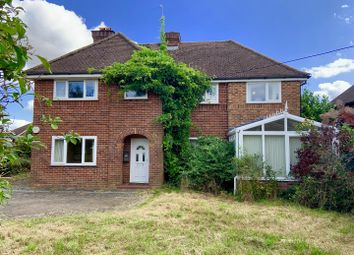 Thumbnail 4 bed detached house for sale in Sapley Lane, Overton, Basingstoke