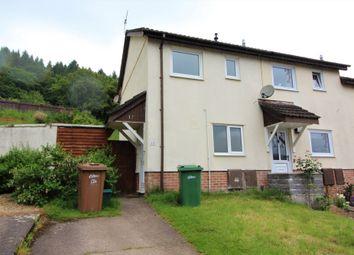 Thumbnail 2 bedroom end terrace house to rent in Dan-Y-Darren, Llanbradach, Caerphilly