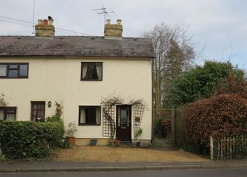 Thumbnail 2 bed end terrace house for sale in Newton Road, Whittlesford, Cambridge