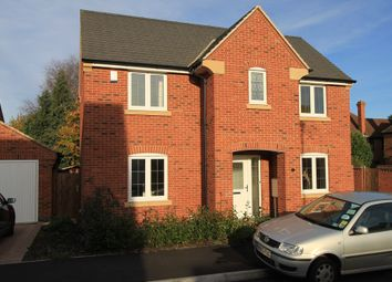 Thumbnail 3 bed property to rent in Wicket Close, Loughborough