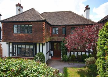 Thumbnail 4 bed detached house to rent in Chichele Road, Oxted