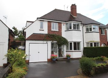 Thumbnail 4 bed semi-detached house for sale in Court Oak Road, Harborne, Birmingham