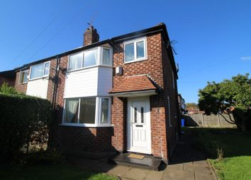 Thumbnail 3 bed semi-detached house to rent in Riverton Road, East Didsbury, Manchester