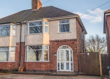 Thumbnail 3 bed semi-detached house for sale in Rugby Road, Clifton Upon Dunsmore, Rugby