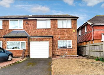 Thumbnail 4 bed semi-detached house for sale in Masson Avenue, Ruislip