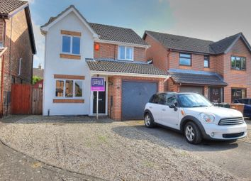 3 bed detached house for sale in Laxton Close, Attleborough NR17