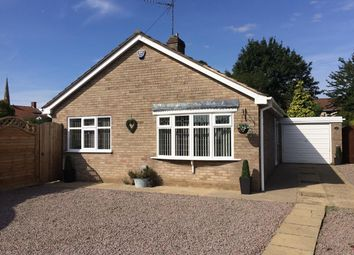Thumbnail 3 bedroom detached bungalow for sale in Field Close, Gosberton, Spalding