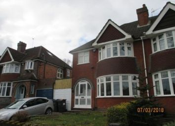 Thumbnail 3 bed property to rent in Edenhall Road, Quinton, Birmingham