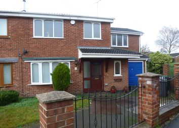 Thumbnail 4 bed semi-detached house for sale in Wren Park Close, Findern, Derby