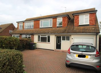 Thumbnail 4 bed semi-detached house to rent in Eastcheap, Rayleigh