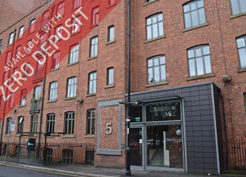 Thumbnail 1 bed flat to rent in Cambridge Mill, 5 Cambridge Street, Manchester