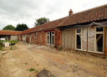 Thumbnail 6 bed barn conversion for sale in Village Street, Sedgebrook, Grantham