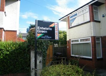 Thumbnail 2 bed semi-detached house for sale in Silvester Road, Chorley, Lancashire