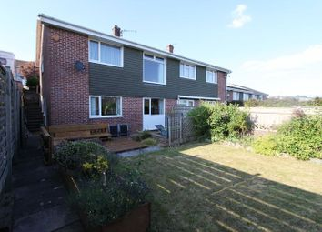 Thumbnail 3 bed semi-detached house to rent in Speedwell Crescent, Plymouth
