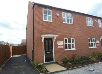 Thumbnail 3 bed semi-detached house to rent in Oyster Way, Warsop, Mansfield, Nottinghamshire