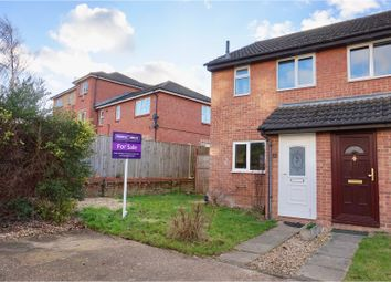 Thumbnail 2 bed end terrace house for sale in Brookvale Close, Basingstoke