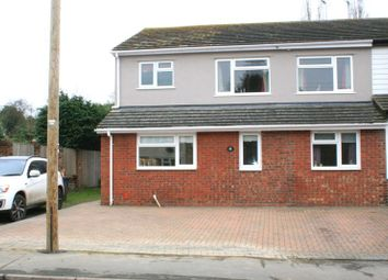 Thumbnail 4 bed semi-detached house for sale in The Street, Weeley, Clacton-On-Sea