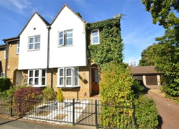 Thumbnail 3 bed end terrace house for sale in Churchfield Road, Walton-On-Thames