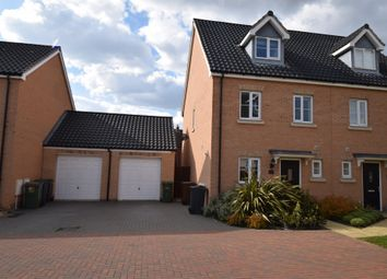 Thumbnail 3 bed town house to rent in Beechcroft Court, Cringleford, Norwich, Norfolk
