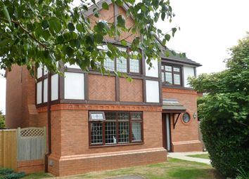 Thumbnail 4 bed detached house for sale in Abbeydale Close, Wrexham