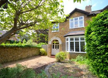 Thumbnail 3 bedroom semi-detached house for sale in Church Way, Weston Favell Village, Northampton