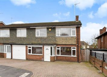 Thumbnail 4 bed semi-detached house for sale in Coppice Way, South Woodford, London