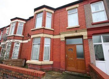 Thumbnail 4 bed terraced house for sale in Percy Road, Wallasey