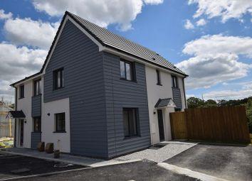 Thumbnail 3 bed semi-detached house for sale in Penhole Drive, Launceston