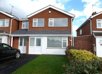 Thumbnail 4 bed property to rent in Severn Road, Oadby, Leicester