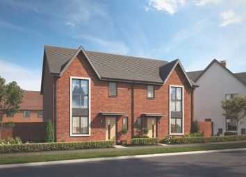 "Thumbnail 3 bed property for sale in ""The Hartley"" at Crick Road, Hillmorton, Rugby"
