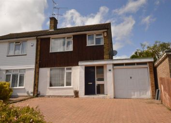 Thumbnail 3 bed semi-detached house for sale in Borrowdale Avenue, Dunstable