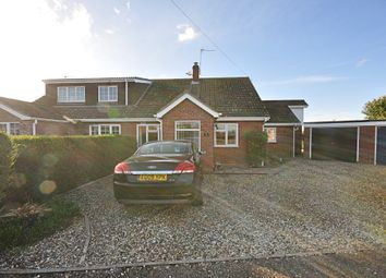 Thumbnail 3 bed semi-detached bungalow for sale in Limmer Avenue, Dickleburgh, Diss