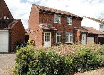 Thumbnail 2 bedroom semi-detached house to rent in Perracombe, Furzton, Milton Keynes