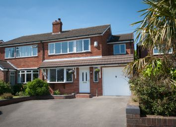 Thumbnail 4 bed semi-detached house for sale in Main Street, Stonnall, Walsall