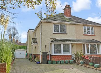 Thumbnail 4 bed semi-detached house for sale in Ruskin Road, Eastleigh