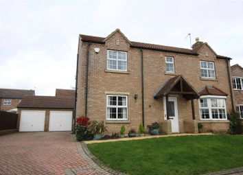 Thumbnail 4 bed detached house for sale in Bishop Close, Dunholme, Lincoln
