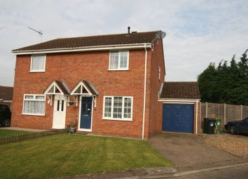 Thumbnail 3 bed semi-detached house to rent in Eckersley Drive, Fakenham