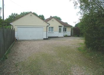 Thumbnail 4 bed detached bungalow for sale in Forncett Station, Forncett St. Peter, Norwich
