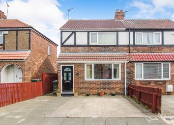 Thumbnail 2 bed semi-detached house for sale in Dinsdale Avenue, Wallsend