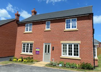 Thumbnail 4 bedroom detached house for sale in Moira Road, Ashby-De-La-Zouch