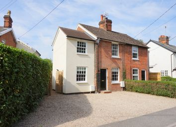 Thumbnail 3 bed semi-detached house for sale in Manningtree Road, East Bergholt, Colchester, Suffolk